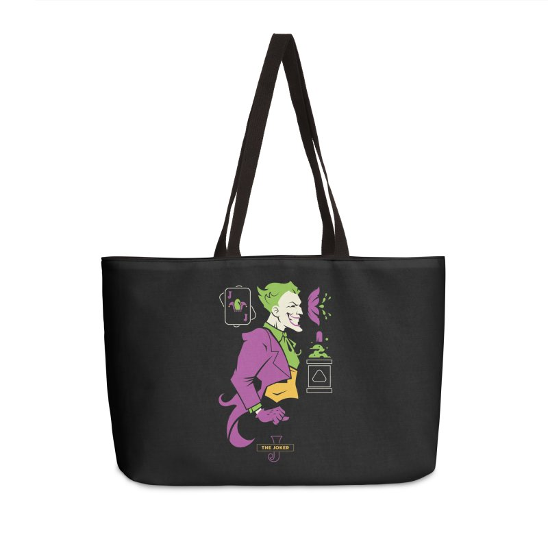 Joker - DC Superhero Profiles Accessories Weekender Bag Bag by daab Creative's Artist Shop