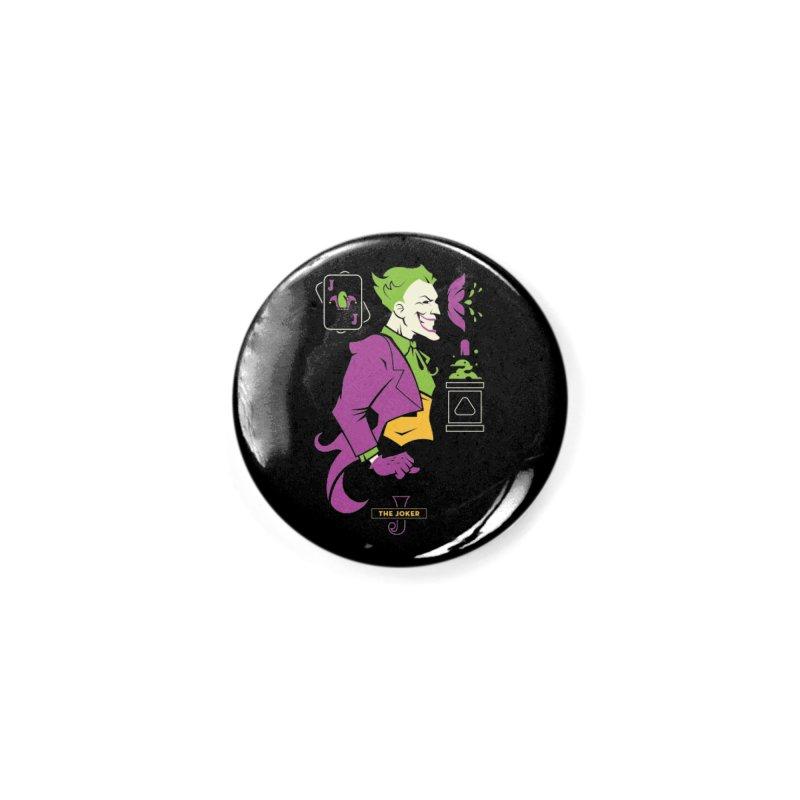 Joker - DC Superhero Profiles Accessories Button by daab Creative's Artist Shop