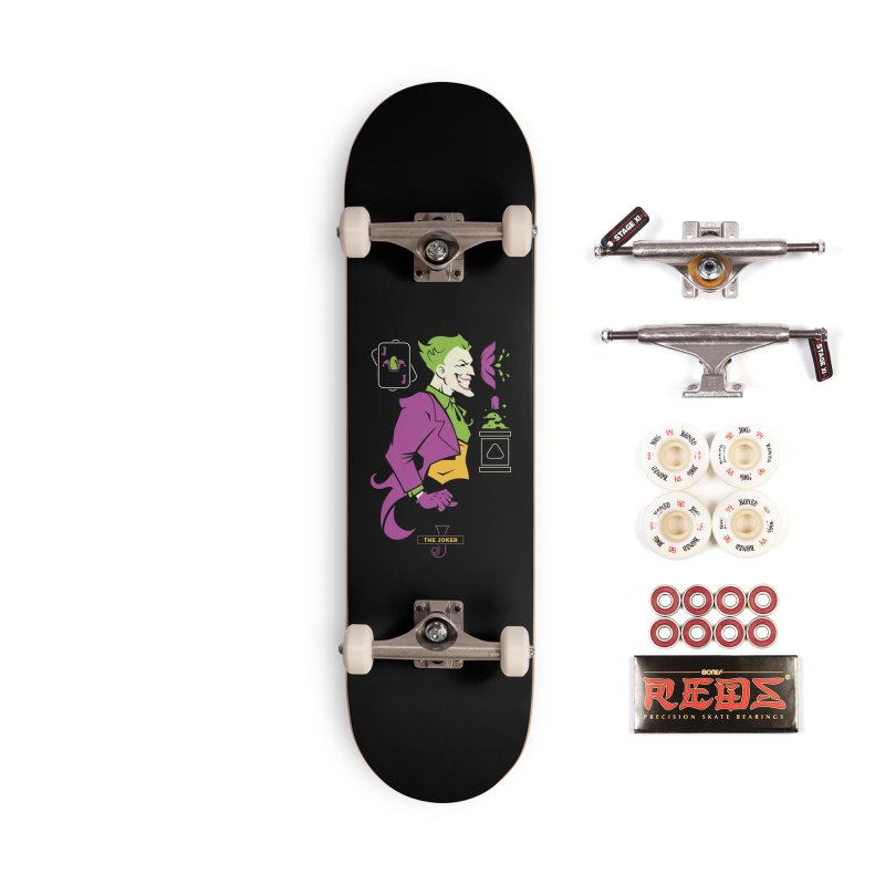 Joker - DC Superhero Profiles Accessories Complete - Pro Skateboard by daab Creative's Artist Shop