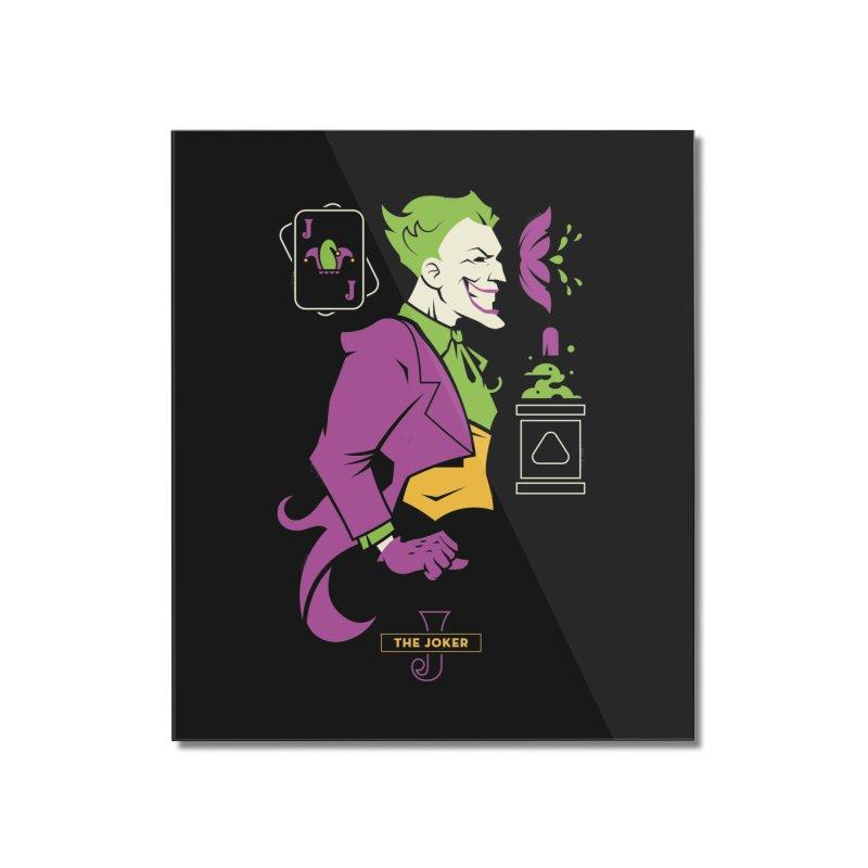 Joker - DC Superhero Profiles Home Mounted Acrylic Print by daab Creative's Artist Shop