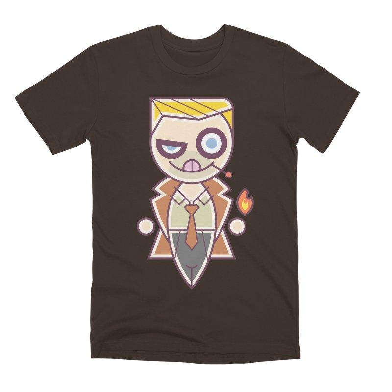 Constantine Silly Men's Premium T-Shirt by daab Creative's Artist Shop