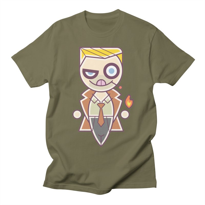 Constantine Silly Men's Regular T-Shirt by daab Creative's Artist Shop