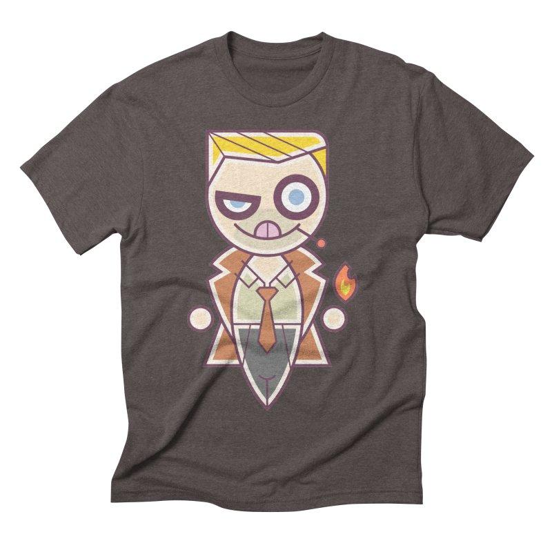 Constantine Silly Men's Triblend T-Shirt by daab Creative's Artist Shop