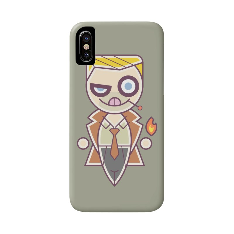 Constantine Silly Accessories Phone Case by daab Creative's Artist Shop