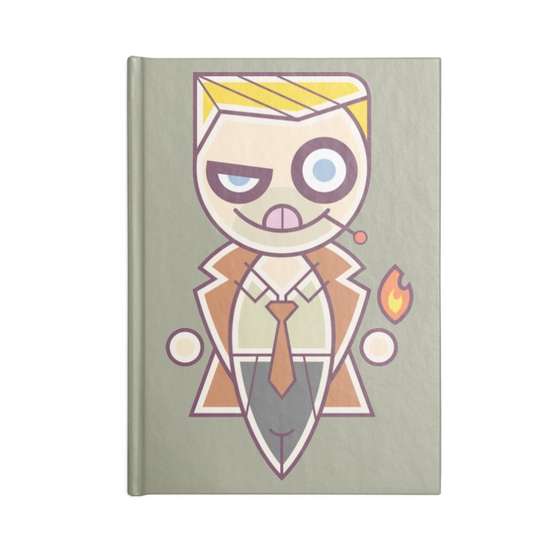 Constantine Silly Accessories Notebook by daab Creative's Artist Shop