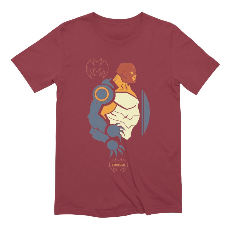 DC Superhero Profiles: Forager - Young Justice Edition Men's Extra Soft T-Shirt by daab Creative's Artist Shop