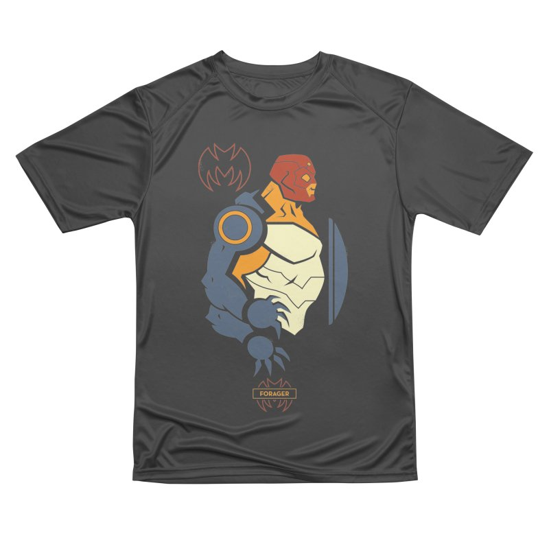 DC Superhero Profiles: Forager - Young Justice Edition Women's Performance Unisex T-Shirt by daab Creative's Artist Shop