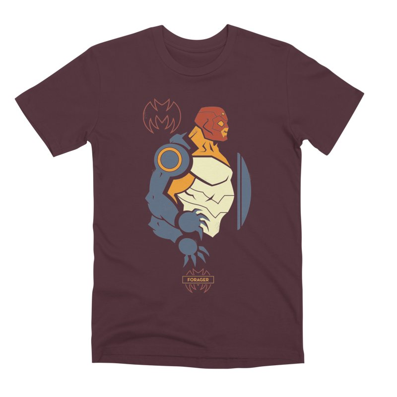 DC Superhero Profiles: Forager - Young Justice Edition Men's Premium T-Shirt by daab Creative's Artist Shop