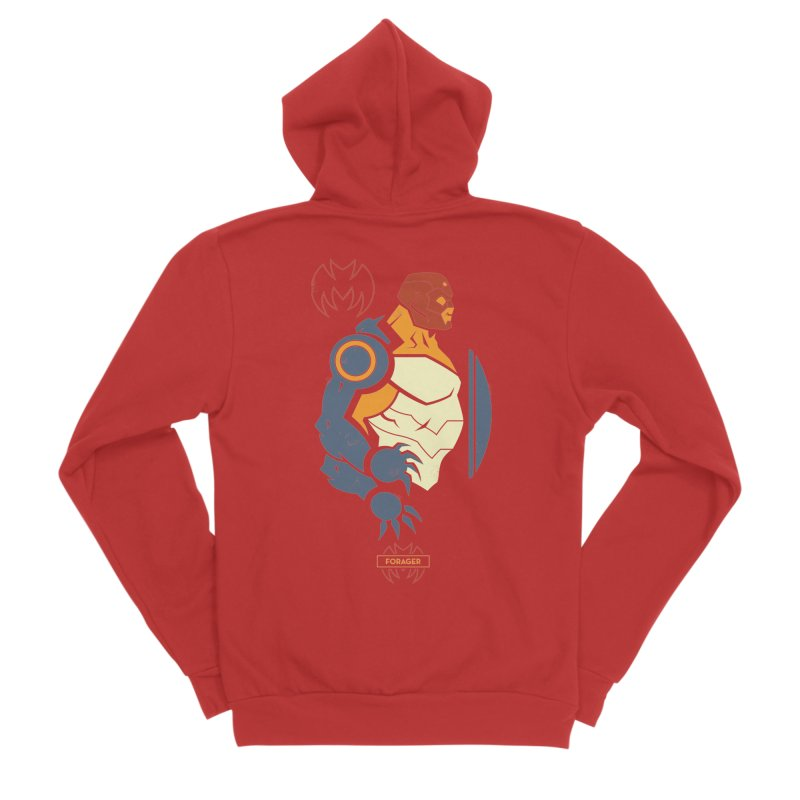 Forager, Young Justice - DC Superhero Profiles Men's Zip-Up Hoody by daab Creative's Artist Shop