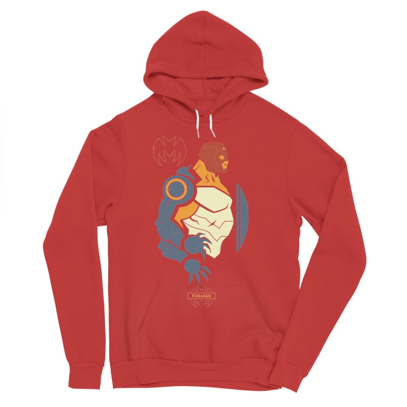 DC Superhero Profiles: Forager - Young Justice Edition Men's Pullover Hoody by daab Creative's Artist Shop