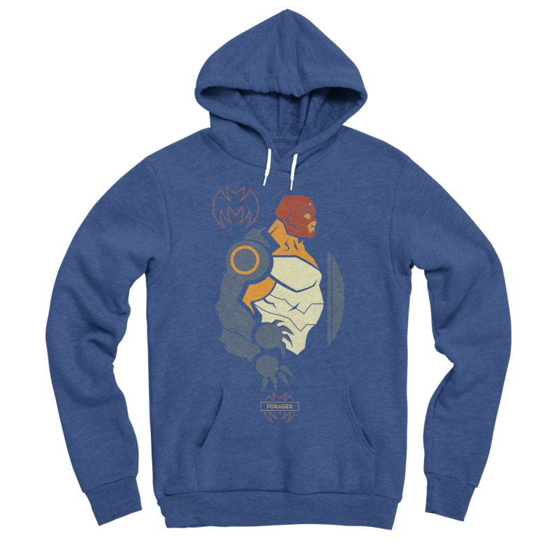 DC Superhero Profiles: Forager - Young Justice Edition Men's Sponge Fleece Pullover Hoody by daab Creative's Artist Shop