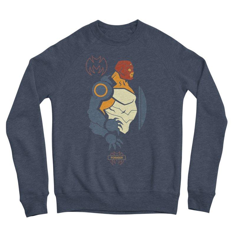 DC Superhero Profiles: Forager - Young Justice Edition Women's Sponge Fleece Sweatshirt by daab Creative's Artist Shop