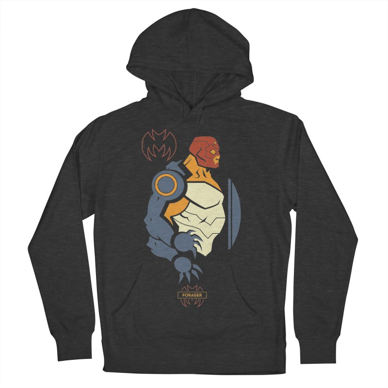 DC Superhero Profiles: Forager - Young Justice Edition Women's French Terry Pullover Hoody by daab Creative's Artist Shop