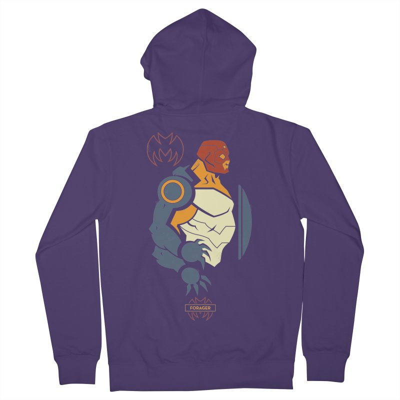 Forager, Young Justice - DC Superhero Profiles Women's Zip-Up Hoody by daab Creative's Artist Shop