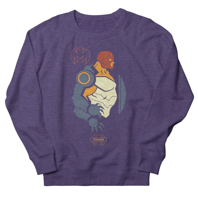 DC Superhero Profiles: Forager - Young Justice Edition Women's French Terry Sweatshirt by daab Creative's Artist Shop