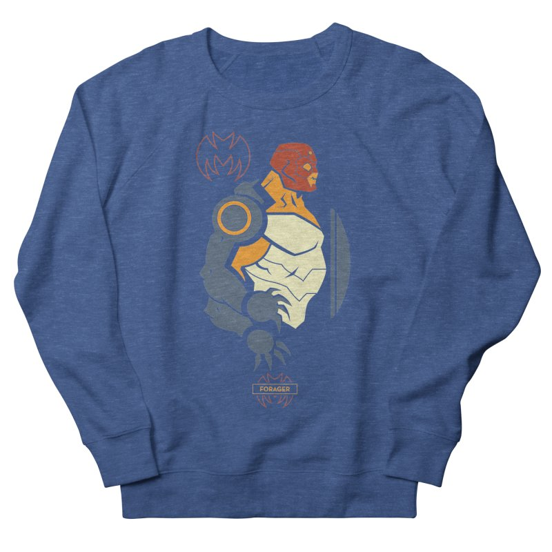 DC Superhero Profiles: Forager - Young Justice Edition Men's French Terry Sweatshirt by daab Creative's Artist Shop