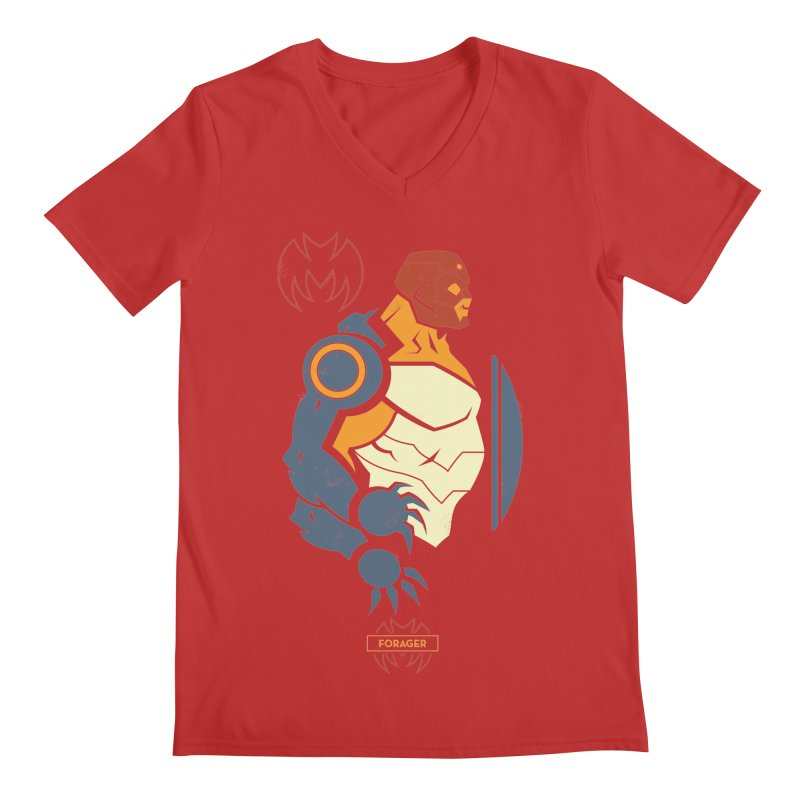 Forager, Young Justice - DC Superhero Profiles Men's V-Neck by daab Creative's Artist Shop