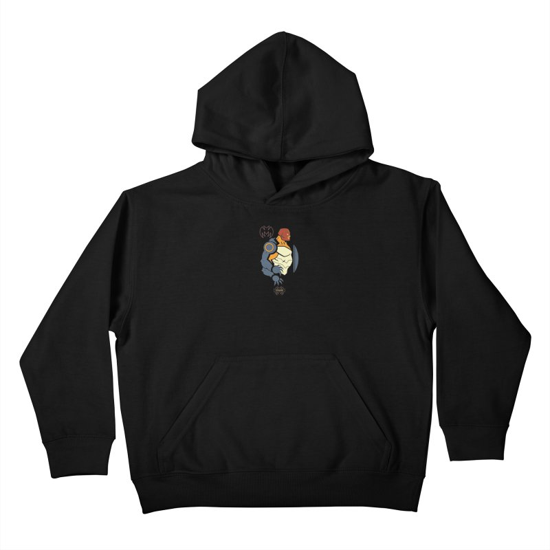 Forager, Young Justice - DC Superhero Profiles Kids Pullover Hoody by daab Creative's Artist Shop