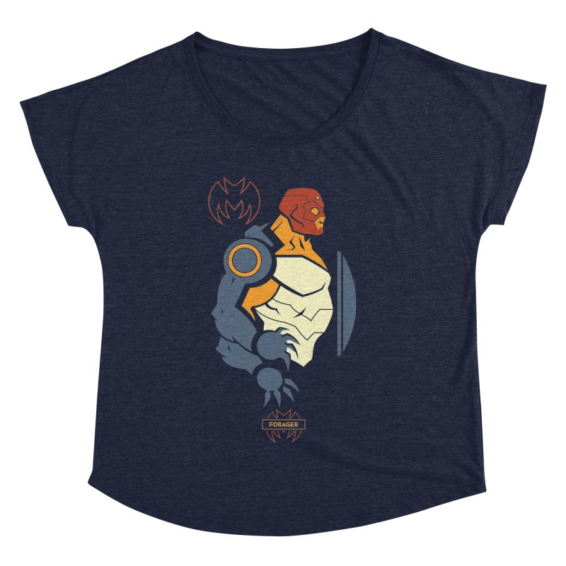 DC Superhero Profiles: Forager - Young Justice Edition Women's Dolman Scoop Neck by daab Creative's Artist Shop