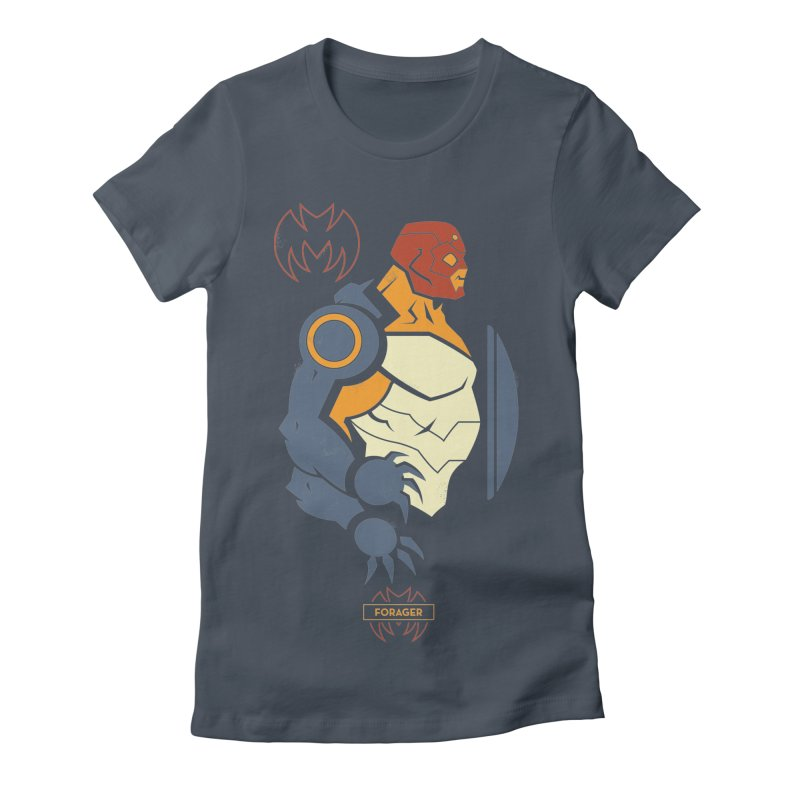Forager, Young Justice - DC Superhero Profiles Women's T-Shirt by daab Creative's Artist Shop