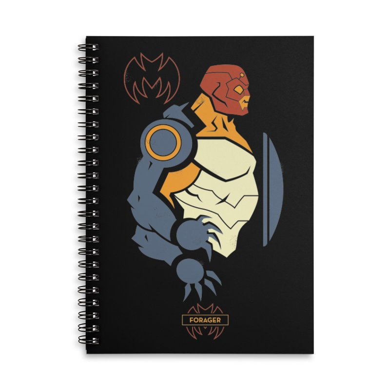 Forager, Young Justice - DC Superhero Profiles Accessories Notebook by daab Creative's Artist Shop