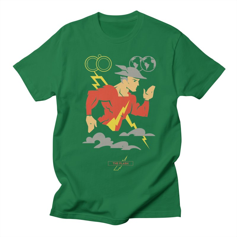 Jay Garrick, The Flash - DC Superhero Profiles Men's T-Shirt by daab Creative's Artist Shop