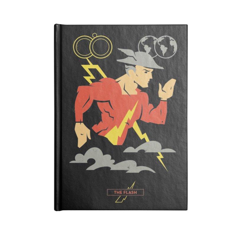 Jay Garrick, The Flash - DC Superhero Profiles Accessories Notebook by daab Creative's Artist Shop