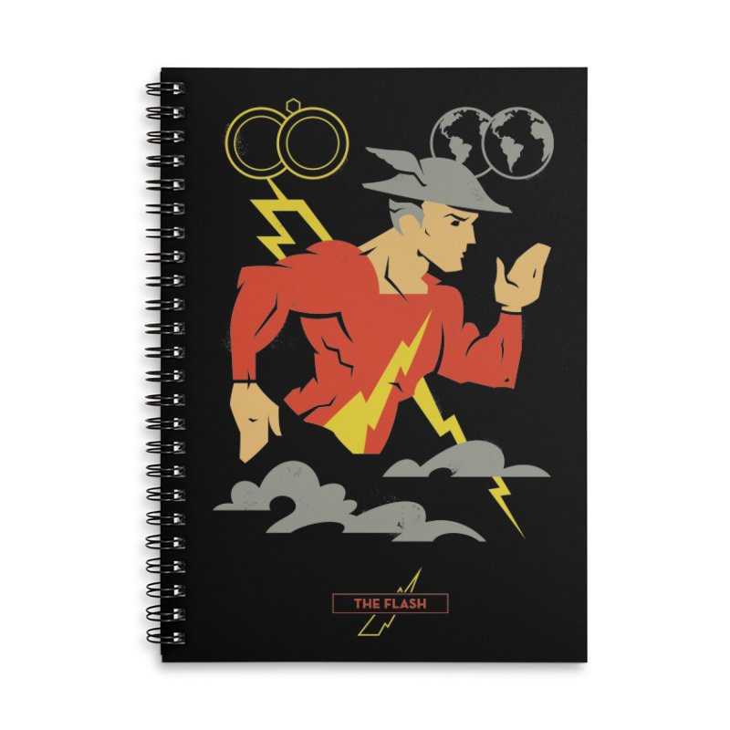 Jay Garrick, The Flash - DC Superhero Profiles Accessories Notebook by daab Creative's Artist Shop