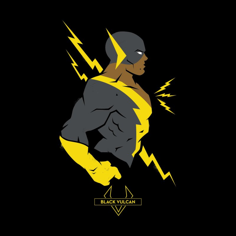 Black Vulcan - DC Superhero Profiles Women's T-Shirt by daab Creative's Artist Shop