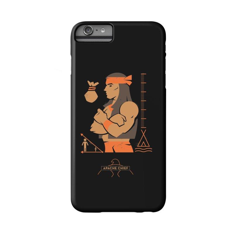 Apache Chief - DC Superhero Profiles Accessories Phone Case by daab Creative's Artist Shop