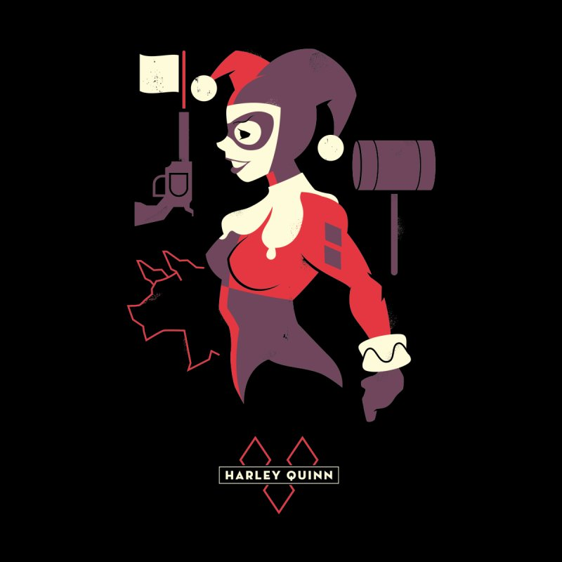 Harley Quin - DC Superhero Profiles Women's T-Shirt by daab Creative's Artist Shop
