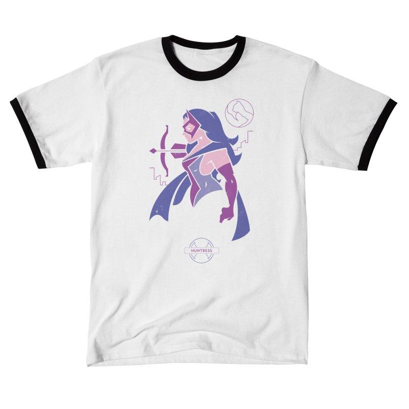 Huntress - DC Superhero Profiles Women's T-Shirt by daab Creative's Artist Shop