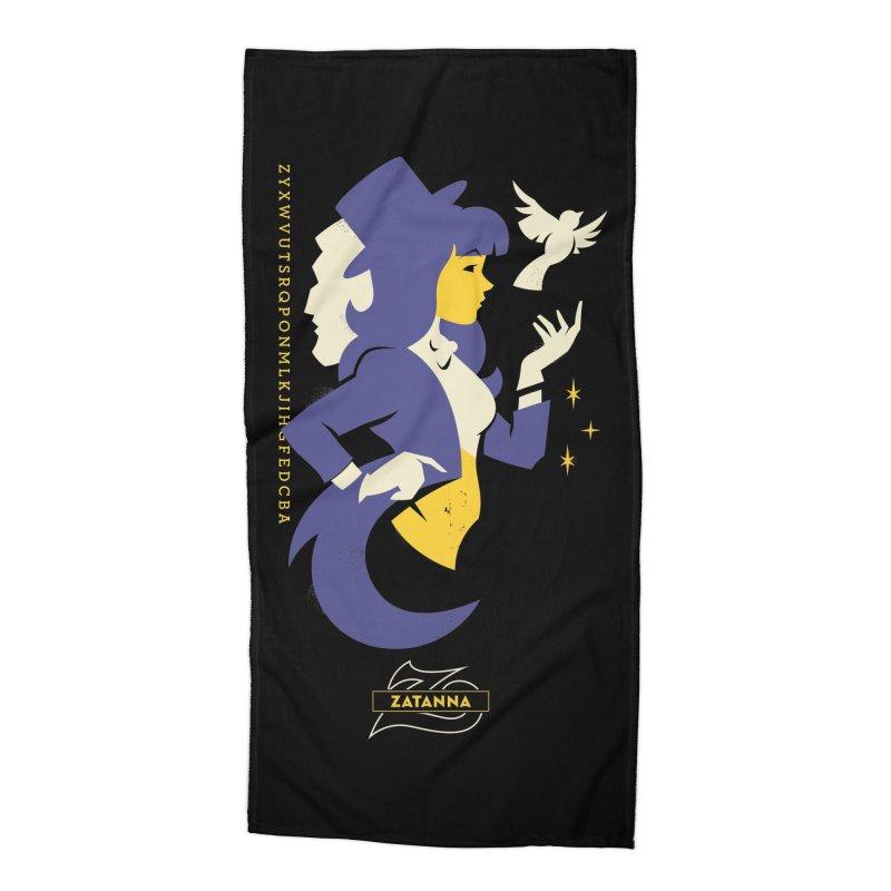 Zatanna - DC Superhero Profiles Accessories Beach Towel by daab Creative's Artist Shop
