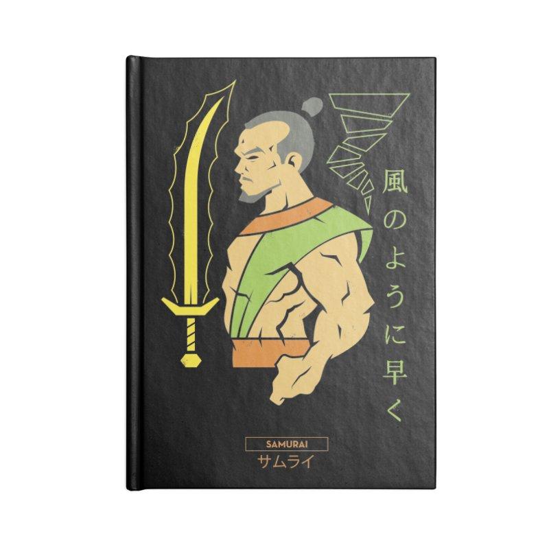 Samurai - DC Superhero Profiles Accessories Notebook by daab Creative's Artist Shop