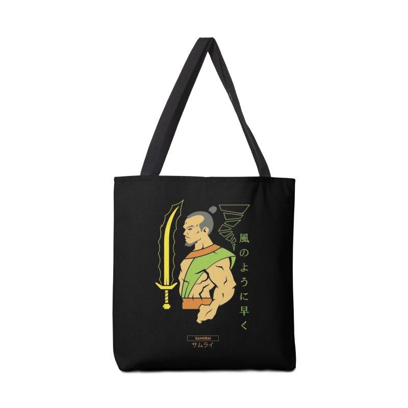 Samurai - DC Superhero Profiles Accessories Bag by daab Creative's Artist Shop