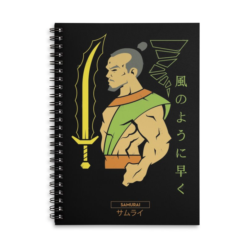Samurai - DC Superhero Profiles Accessories Notebook by daab Creative's Artist Shop
