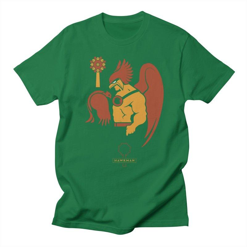 Hawkman - DC Superhero Profiles Men's T-Shirt by daab Creative's Artist Shop