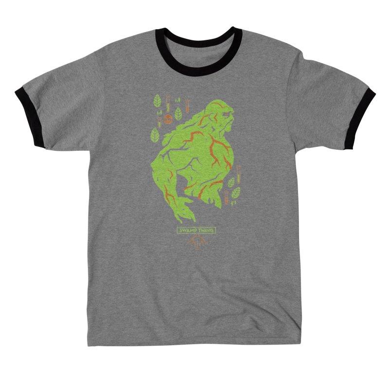Swamp Thing - DC Superhero Profiles Men's T-Shirt by daab Creative's Artist Shop