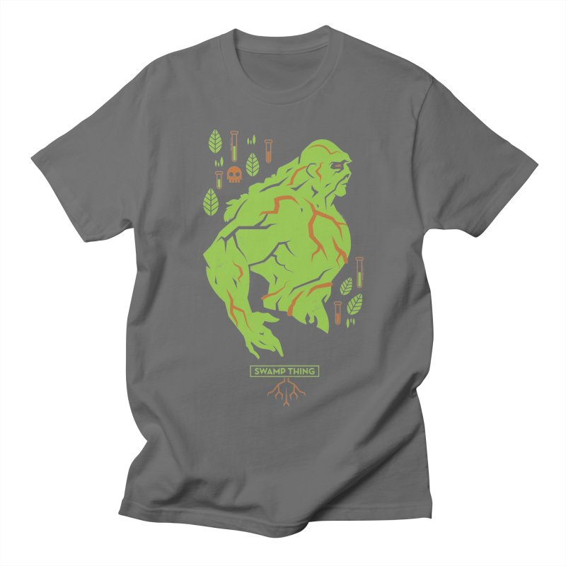 Swamp Thing - DC Superhero Profiles Men's T-Shirt by daab Creative's Artist Shop