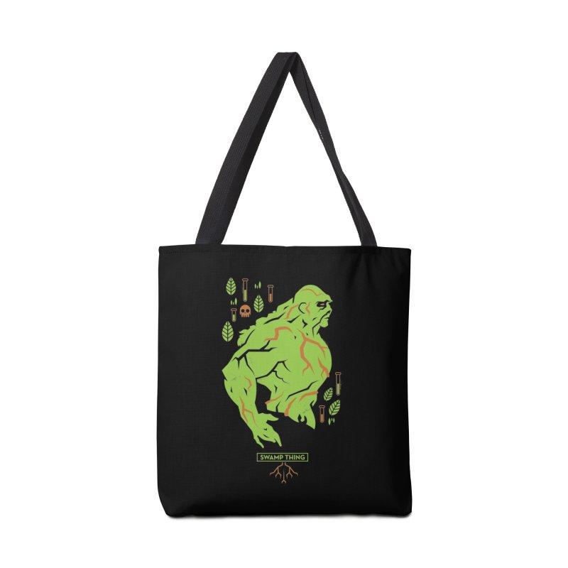 Swamp Thing - DC Superhero Profiles Accessories Bag by daab Creative's Artist Shop