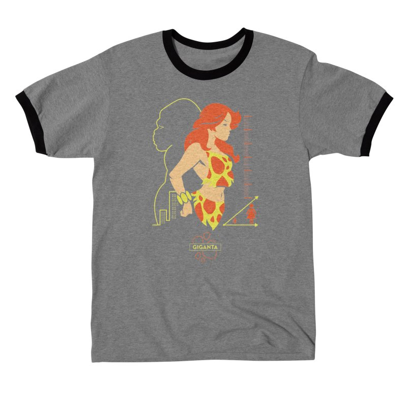 Giganta - DC Superhero Profiles Women's T-Shirt by daab Creative's Artist Shop