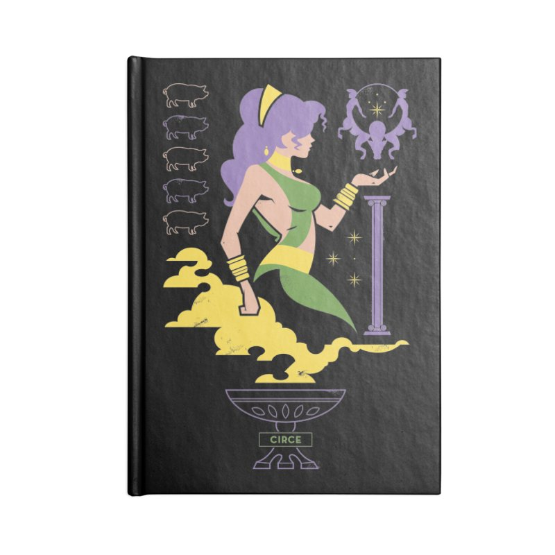 Circe - DC Superhero Profiles Accessories Notebook by daab Creative's Artist Shop