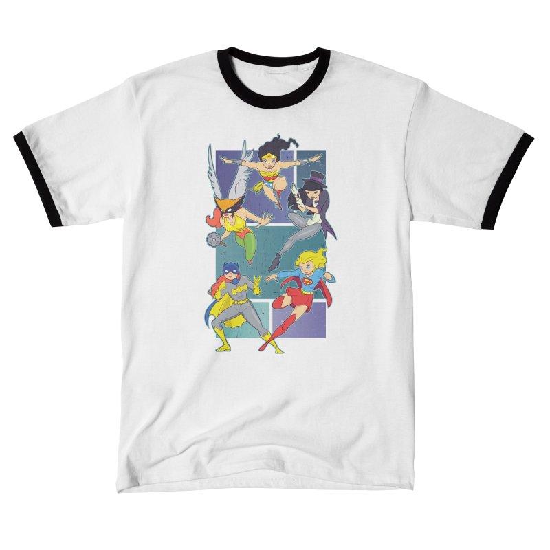 Girl Power Women's T-Shirt by daab Creative's Artist Shop