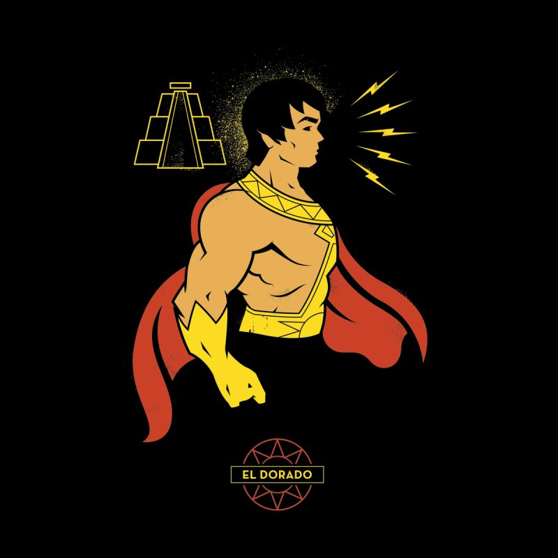El Dorado - DC Superhero Profile Accessories Beach Towel by daab Creative's Artist Shop