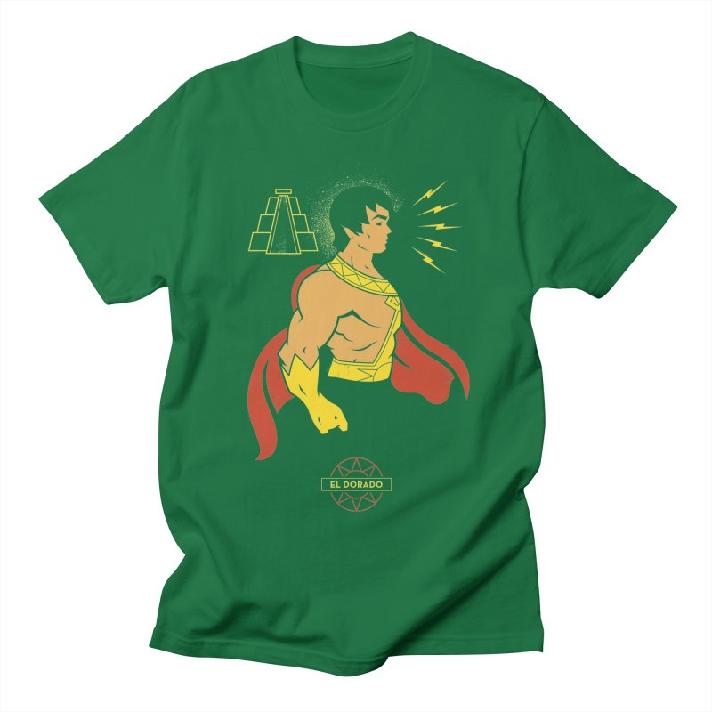 El Dorado - DC Superhero Profile Men's T-Shirt by daab Creative's Artist Shop