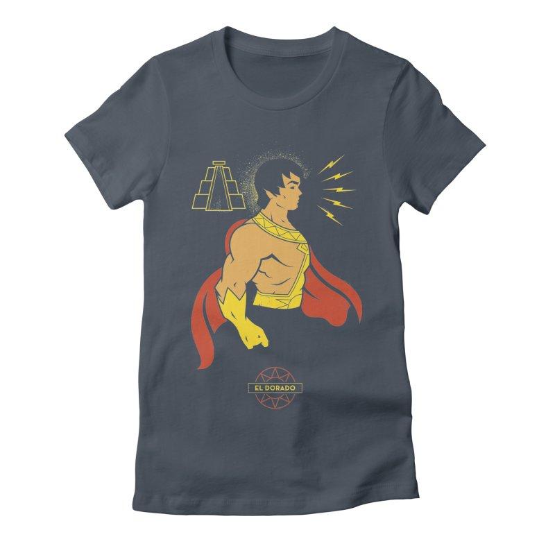 El Dorado - DC Superhero Profile Women's T-Shirt by daab Creative's Artist Shop