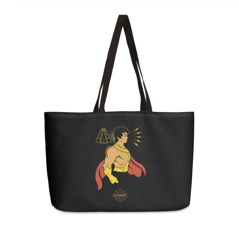 El Dorado - DC Superhero Profile Accessories Bag by daab Creative's Artist Shop