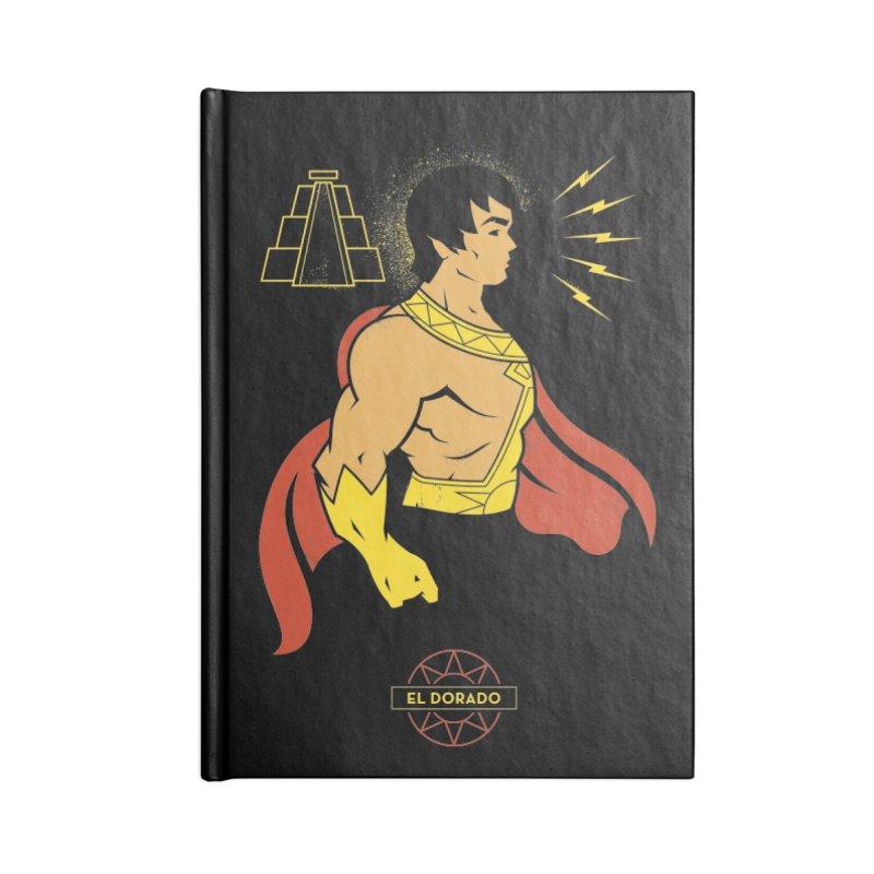 El Dorado - DC Superhero Profile Accessories Notebook by daab Creative's Artist Shop