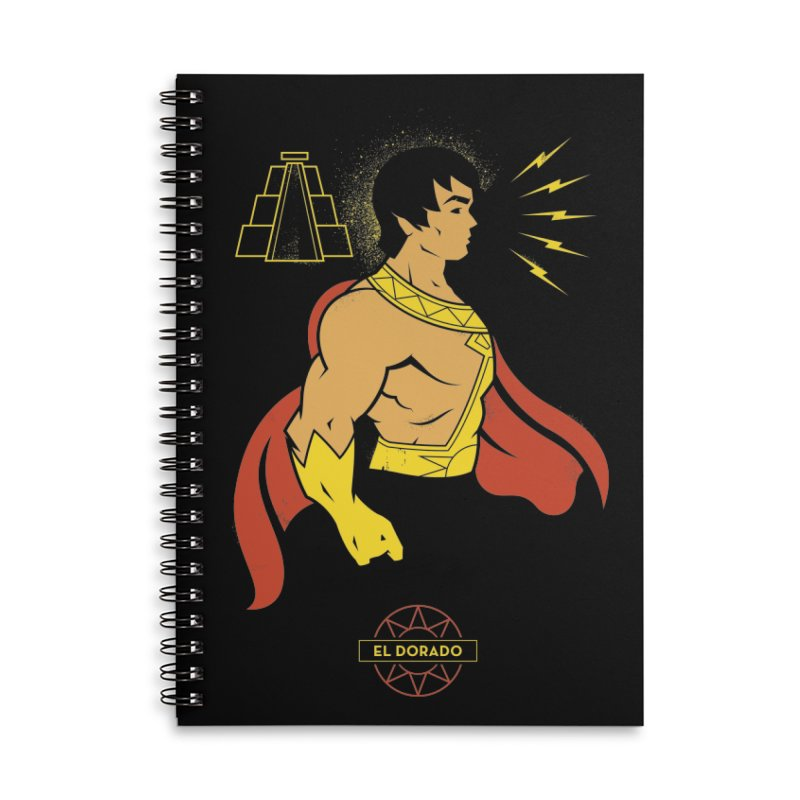 El Dorado - DC Superhero Profile Accessories Notebook by daab Creative's Artist Shop