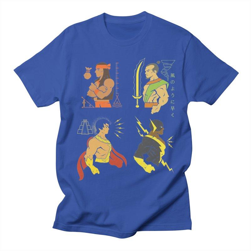 Diversity Is A Superpower - DC Superhero Profiles Men's T-Shirt by daab Creative's Artist Shop